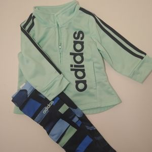 0-3 month Baby Girl Adidas Track Suit